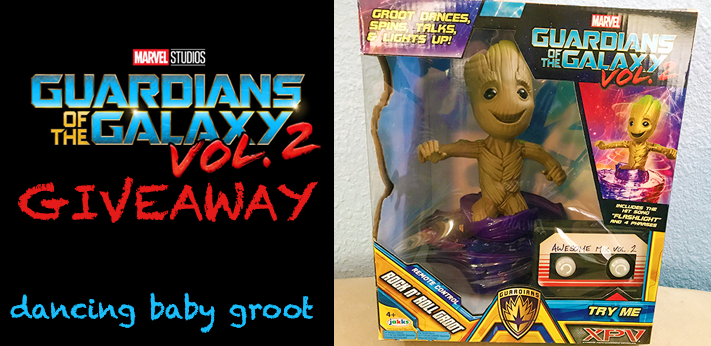 Groot-dancing baby groot for giveaway